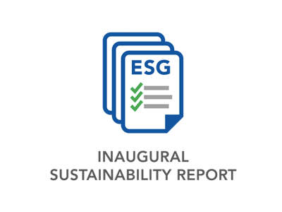 INAUGURAL SUSTAINABILITY REPORT