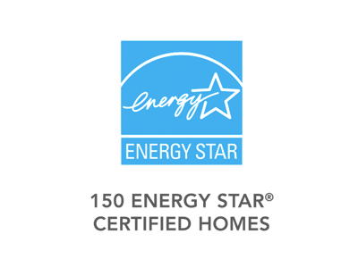 150 ENERGY STAR CERTIFIED HOMES