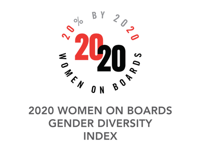 2020 WOMEN ON BOARDS GENDER DIVERSITY INDEX